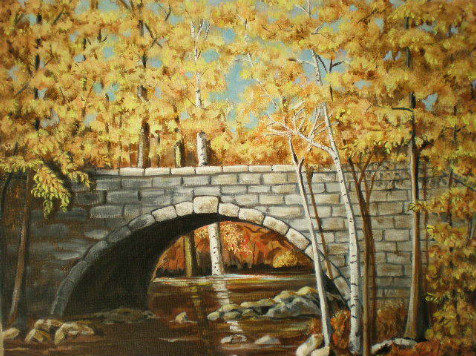 Acadia Bridge by Janet Glatz