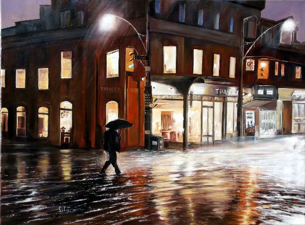 A Rainy Night by Lily Adamczyk