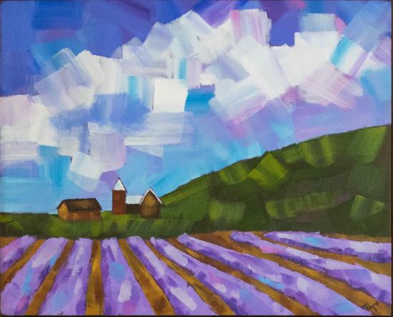 Lavender Fields 2