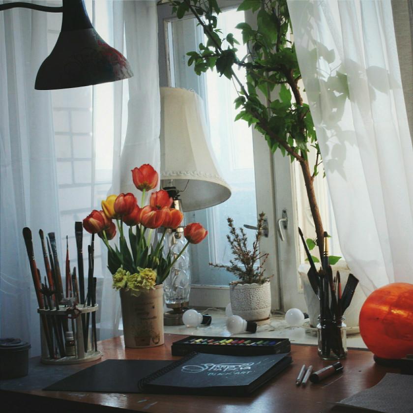 Tanya Shatseva's studio