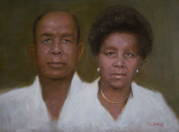 Mr and Mrs Joseph Solomon by Walter Mosley