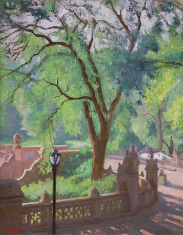 Bethesda Terrace, Central Park, by Walter Mosley