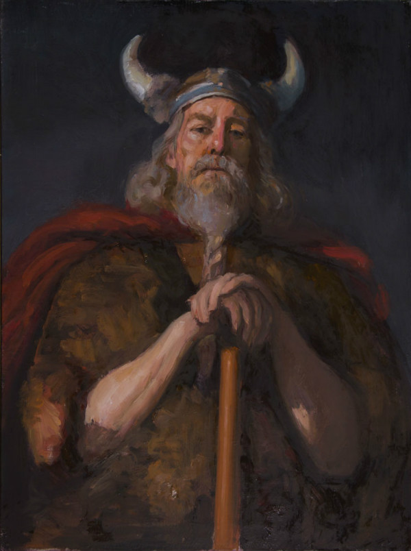 Wotan (Odin, Viking King) by Walter Mosley