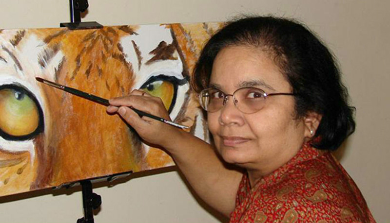 Meet Usha Patibandla, the Artist Who Brings Life Into Portraits